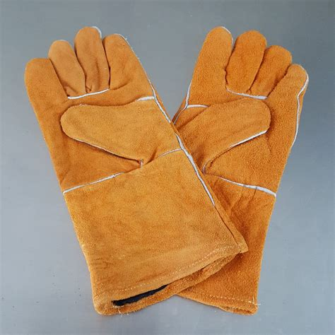 Sarung Tangan Keselamatan Kerja welder safety gloves workplace safety supplies security protection leather gloves welding