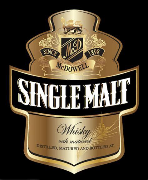 design whisky label single malt whisky ub label design on behance