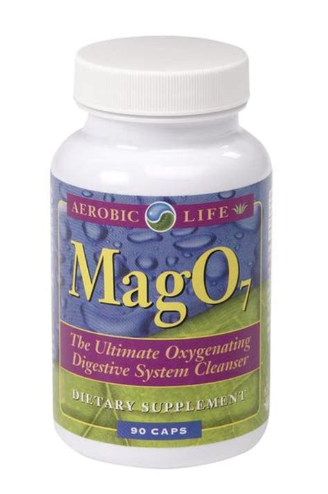 Does Mag07 Detox by Aerobic Mag O7 Colon Cleanser Nature Herbs