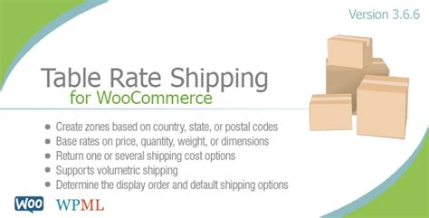what is table rate shipping table rate shipping v3 6 6 for woocommerce unlockpress