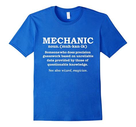 T Shirt Mechanic mechanic definition wizard t shirt automotive technician