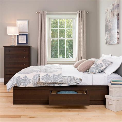 6 drawer bed frame interesting ideas bed with storage drawers designs