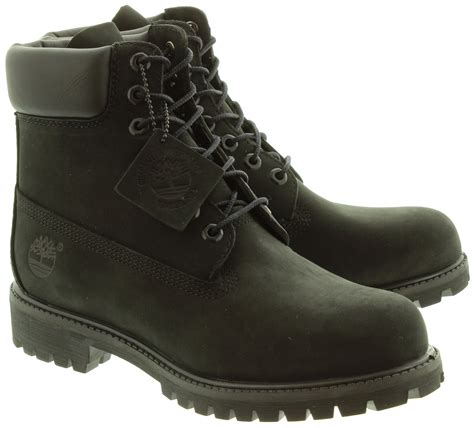 black timberland boots for timberland 10073 original boots in black in black