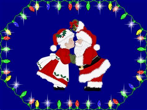 christmas kiss wallpaper christmas images christmas kiss animated wallpaper and