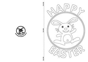 easter card template ks2 9 free easter card templates images printable easter