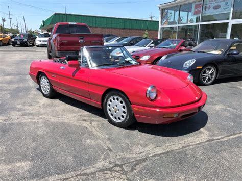 1994 Alfa Romeo Spider For Sale by 1994 Alfa Romeo Spider Veloce Edition Veloce Stock