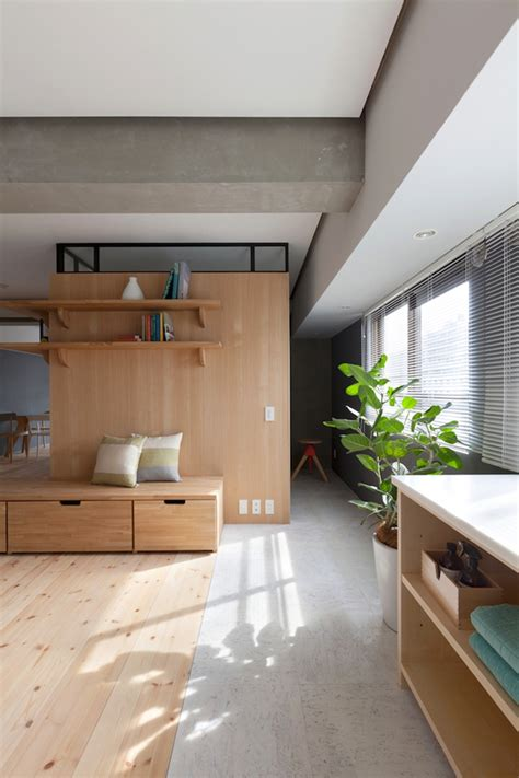 japanese style apartment two apartments in modern minimalist japanese style