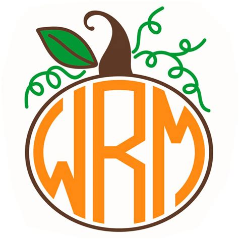 monogram pumpkin templates the gallery for gt wedding monogram design templates