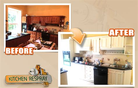respray kitchen cabinets nationwide kitchen respray painting kitchens