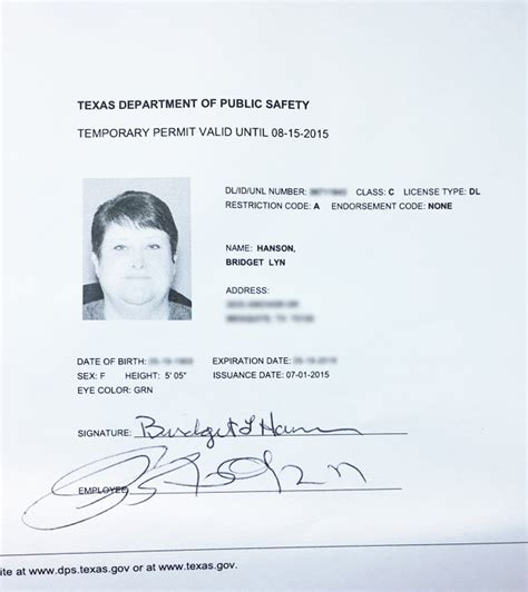 Temporary Drivers License Template by What A Difference A Week Makes Dallas Voice