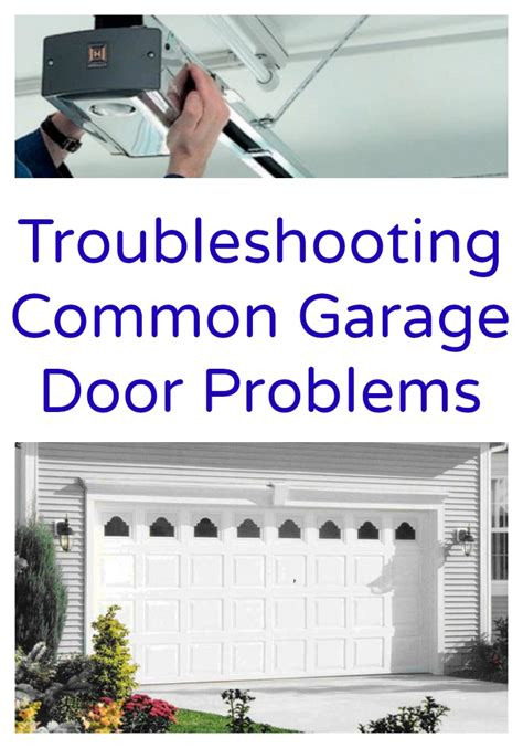 Garage Door Problems troubleshooting common garage door problems www