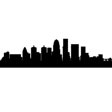 Louisville Ky Skyline Outline image gallery louisville silhouette