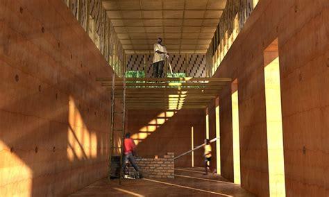african mud house  modern design indaba