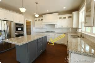 kitchens with different colored islands kitchen different color kitchen cabinets small kitchen