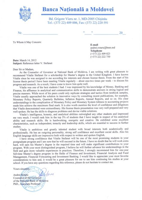 Reference Letter Aas reference letter from dr andrei rotaru phd associate