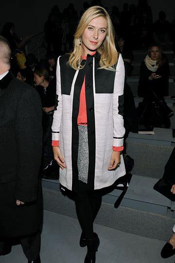 New York Fashion Week Front Row Zoe Hathaway Gisele And Co by Front Row At New York Fashion Week