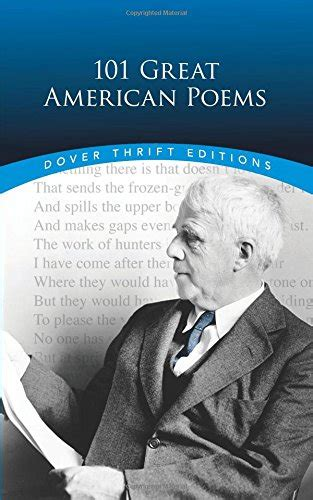 101 Great American Poems Dover Thrift Editions