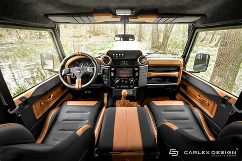 ford land rover interior carlex design land rover defender nakatanenga