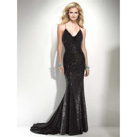Black And Silver Evening by Black And Silver Sequin Prom Dress Www Imgkid The