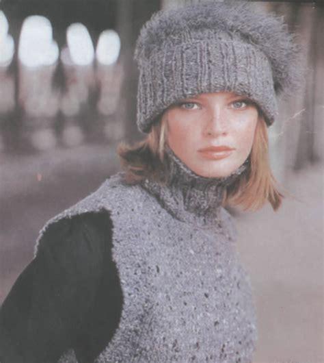 gorros chalecos gorros de lana para nenas imagui