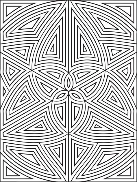 complicated geometric coloring pages complex geometric coloring pages geometric coloring