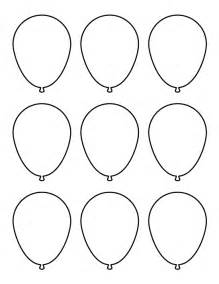 small template printable free small balloon pattern use the printable pattern for