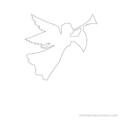 printable templates of angels free printable angel stencils free printable stencils