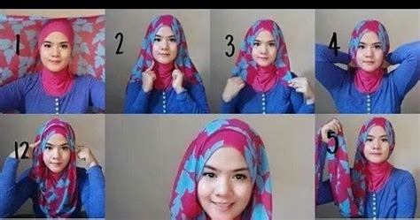Jilbab Instan Yg Cocok Untuk Wajah Bulat cara berhijab pashmina cocok untuk wajah bulat