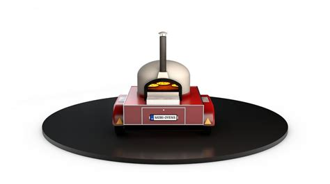 Oven Mobil mobile wood fired pizza oven pizza trailer catering