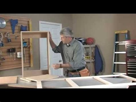 kreg jig wall cabinet part  youtube