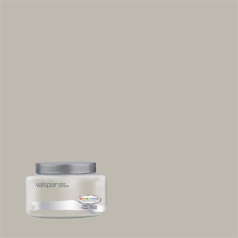 shop valspar frappe interior satin paint sle actual net contents 8 fl oz at lowes