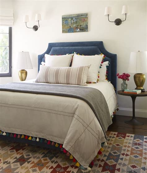 make the bed in spanish best 25 blue headboard ideas on pinterest navy