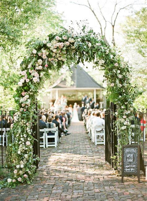 Wedding Aisle Arch by Beyond The Aisle Wedding Inspiration Floral Arches