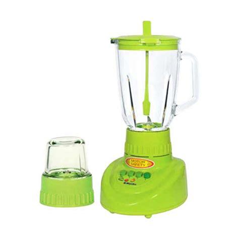 Botol Blender Miyako Tutup Hijau jual miyako bl 151 gf blender hijau kaca harga kualitas terjamin blibli