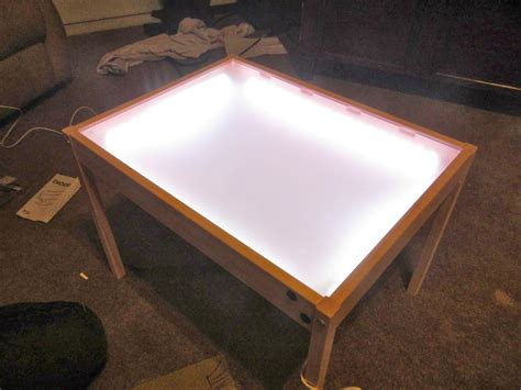 hobby creations diy light table ikea hack