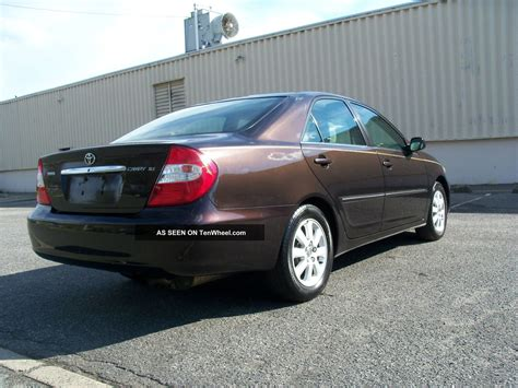 2002 Toyota Camry Xle 2002 Toyota Camry Xle Loaded And Serviced