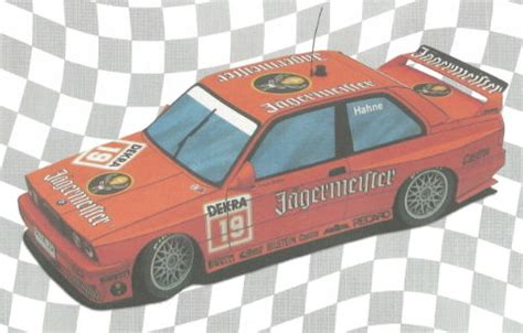 Bmw Papercraft - bmw m3 e30 dtm 1992 paper car free vehicle paper model