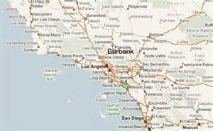 california map burbank burbank location guide
