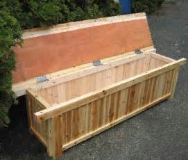 How To Build A Wooden Toy Box With Lid by Cedar Wood Storage Bench