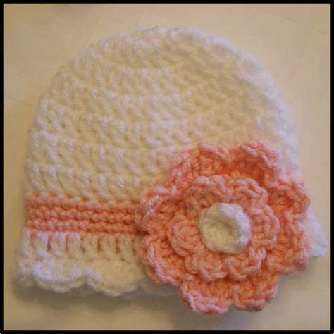 crochet pattern instructions questions crocheted newborn hat with crocheted flower pattern by