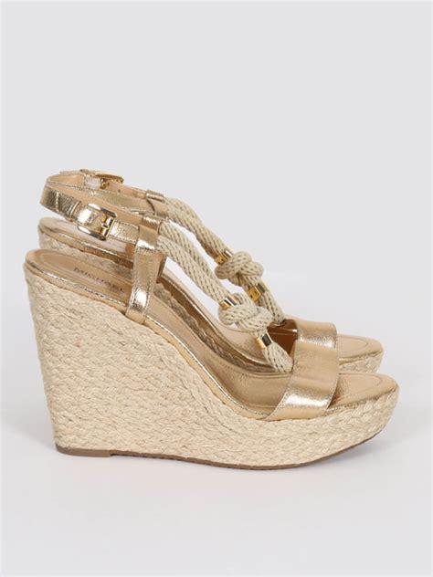 michael kors gold wedge sandals michael kors wedge sandals metallic gold 39 luxury bags