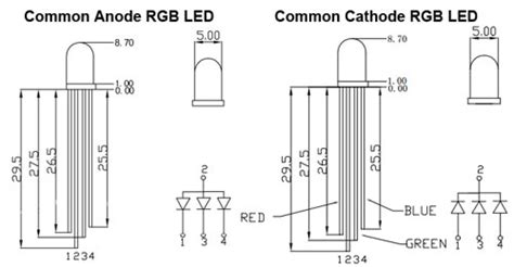 led common cathode vs anode led what is this device included in my arduino parts kit electrical engineering stack exchange