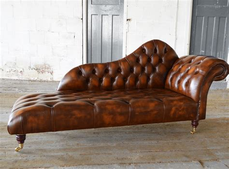 leather sofa with chaise lounge leather chaise lounge abbyson living mirabello tuft