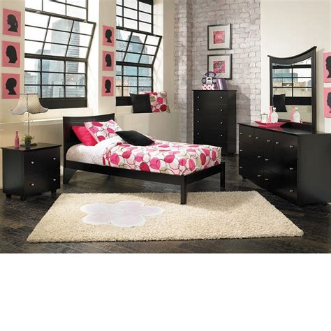 dreamfurniture metro bedroom set espresso