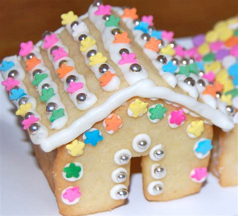 Decorated Cookies For Sale by Miniature Gingerbread Style Sugar Cookie Houses And