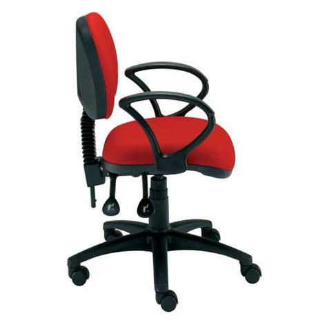 non swivel office chair student medium back gas lift swivel chair with non removable parts