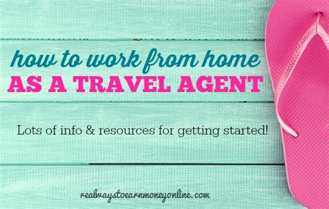 travel work from home opportunities resources