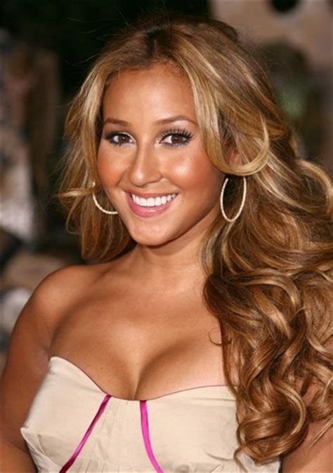 adrienne bailon hair color hair makeover adrienne bailon