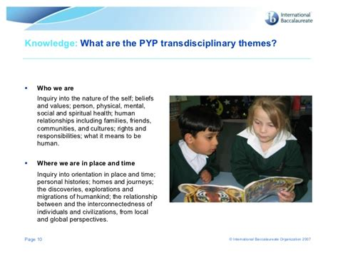 transdisciplinary themes meaning pyp overview keynote