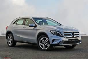 mercedes gla class official review team bhp